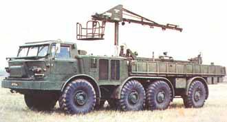 транспортно-заряжающая машина 9Т452