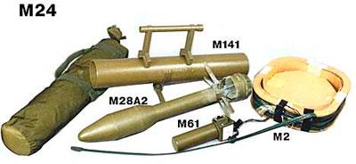 Противотанковые мины М24, М66