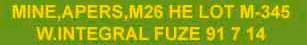 Противопехотная мина М26