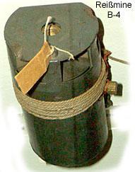 Противопехотная мина italienische Reissmine B-4