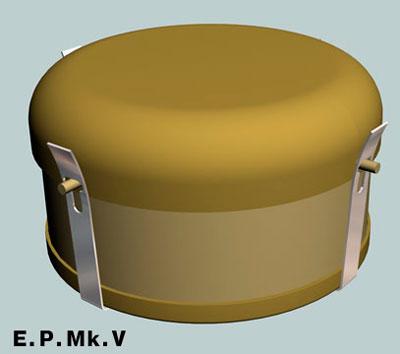 Противотанковая мина Е.П. Модель V (E.P.Mk.V)