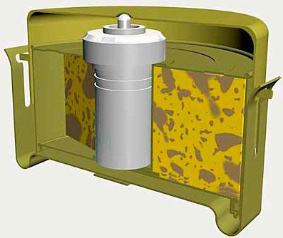 Противотанковая мина Г.С. Модель IV (G.S.Mk.IV)