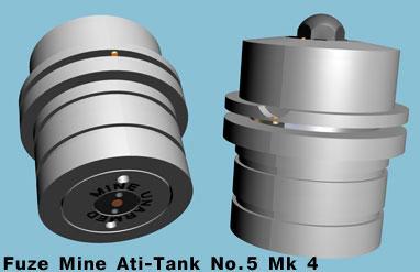 Взрыватель №5 Модель 4 (Fuze Mine Anti-Tank No.5 Mk 4)