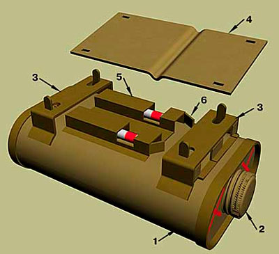 Противотанковая мина №75 «Граната Хокинса» Модель I (No.75 Mk. I)