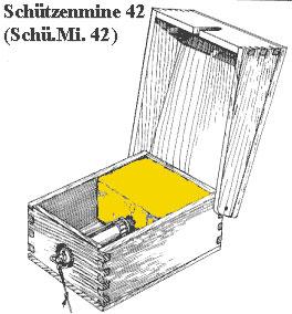 Противопехотная мина Schue.Mi. 42