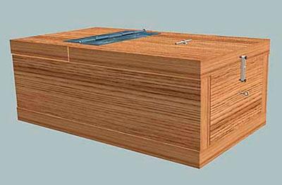 Мина-ловушка деревянная (Entlastungsmine (Holz) (E.Mi.(Holz))