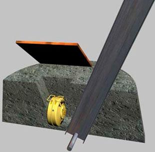 Противодесантная мина I (Nussknackermine I)