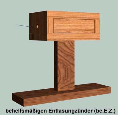 Вспомогательный разгрузочный взрыватель неизвлекаемости Е Зет (behelfsmaessigen Entlastungzuender (be.E.Z.))