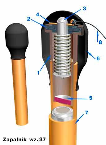 Противотанковая мина образца 37 (Mina przeciwсzolgowa wz.37)