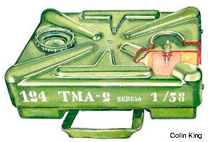 Противотанковая мина ТМA-2A (Protivtenkovska antimagnetna mina - 2A (TMA-2A))