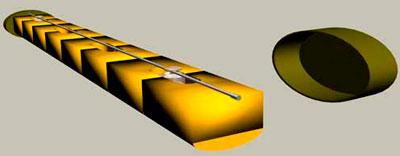 Противотранспортная удлиненная мина (Yardstick Land Mine)