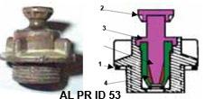 Противопехотная мина-ловушка MI APID 51 (La mine antipersonnel MI  APID 51 à alvéole de piégeage de fond)