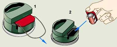 Противотанковая мина 5 (Stridsvagnsmina 5)