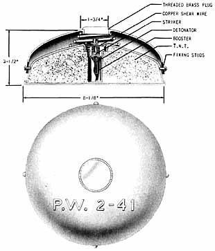 Мина P.W. 2-41
