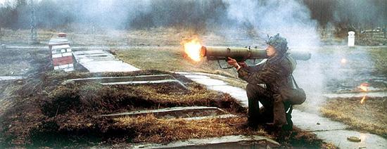 Стрельба из РПО «Рысь»