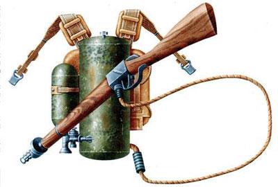 Хит Второй мировой – ранцевый огнемет РОКС-3
