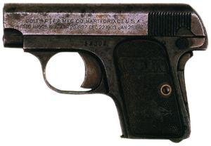 6,35-мм пистолет Кольт-Браунинг M 1906
