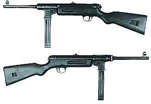 9-мм пистолет-пулемет «Шмайссер» МР.41