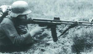 Войсковые испытания 7,92-мм автоматического карабина Мkb.42(H). Июнь 1942 г.
