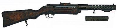 9-мм пистолет-пулемет «Шмайссер» МР.28.II