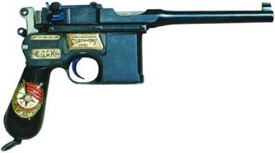 Почетное огнестрельное революционное оружие со знаком ордена «Красное Знамя» РСФСР - награда С.М. Буденного