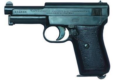 7,65-мм пистолет Маузер М.1910/14