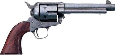 Colt Peacemaker 1873 года (Single Action Army Model 1873). Шестизарядный револьвер под унитарный патрон калибра .45