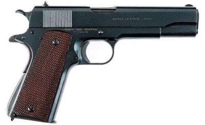 Colt M1911 1911 года. Полуавтоматический пистолет калибра .45