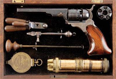 Colt Patterson 1836 года. Пятизарядный капсюльный револьвер калибра .36