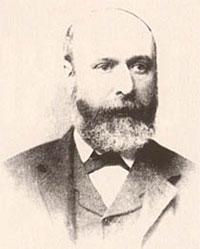 Джон Робертсон (1839-1917) - владелец компании BOSS & Co, оружейник, изобретатель. Фотография 1891 г, Лондон