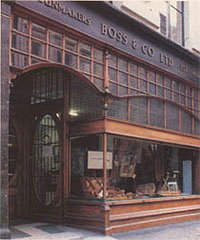 Офис компании Boss & Co в наши дни на 13 Dover Street, London