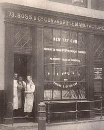 Так выглядел офис компании BOSS & Co в 1892 г. на 73 St. James's Street. Уже целый год здесь трудился Джон Робертсо