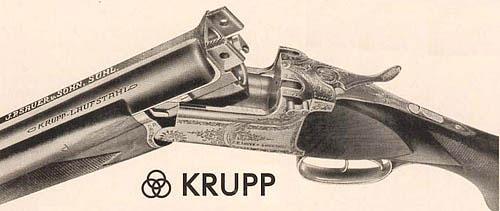 Бокфлинт «Зауэра» модели 1933 г. со стволами из KRUPP-LAUFSTAHL