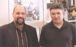 Денис Фонтана (слева), Сергей Кузнецов (справа)