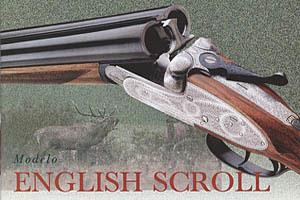 Двуствольное ружье можели «Heavy scroll» с гравировкой. Возможны калибры 12, 16, 20, 28 и .410