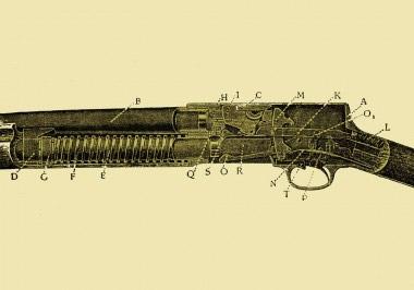 Знаменитая модель самого J.M. Browuning – дробовик Browning Auto-5 с подвижным стволом
