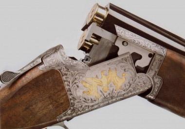 Типовая охотничья вертикалка Browning 425