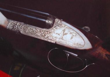 Охотничье оружие Chapuis выполнено в англо-французском стиле