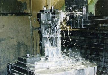 Обработка колодки на станке