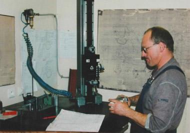 Измерение детали в камере климат-контроля