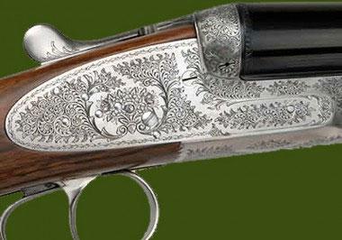 Гладкоствольное ружье Continental Regal в стиле Round Body