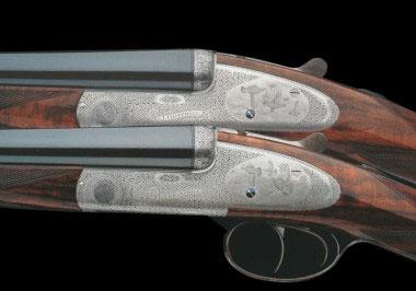 Комплект парных горизонталок Churchill Premiere с округлыми колодками в стиле Round Body и подкладными замками