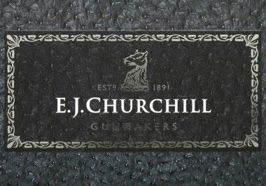 Современная марка фирмы E.J. Churchill (Gunmakers), Ltd