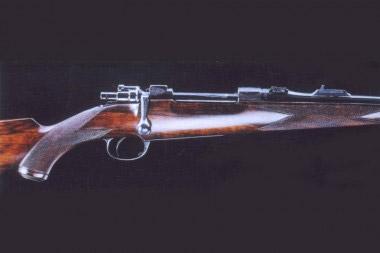 Магазинный карабин H&H с затвором системы Mauser 98