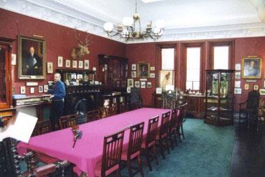 Центральный зал фирмы James Purdey & Sons, Ltd