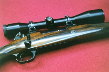Магазинный карабин Purdey с затвором системы Mauser