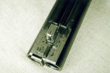 На фирменном блоке стволов полная информация о ружье