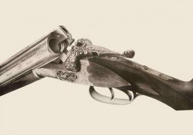 Юбилейное ружье Sauer Meisterwerk № 225000