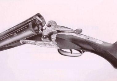 Популярное спортивное ружье Sauer XXIXC с замками в колодке и четверным запиранием блока