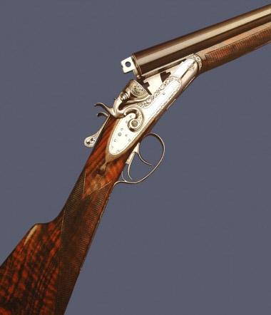 Курковое ружье Fausti Classic EL Gold
